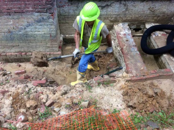 Washington Navy Yard Archaeology Monitoring