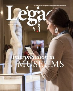 Legacy article Interpretation in Museums. Download your copy.