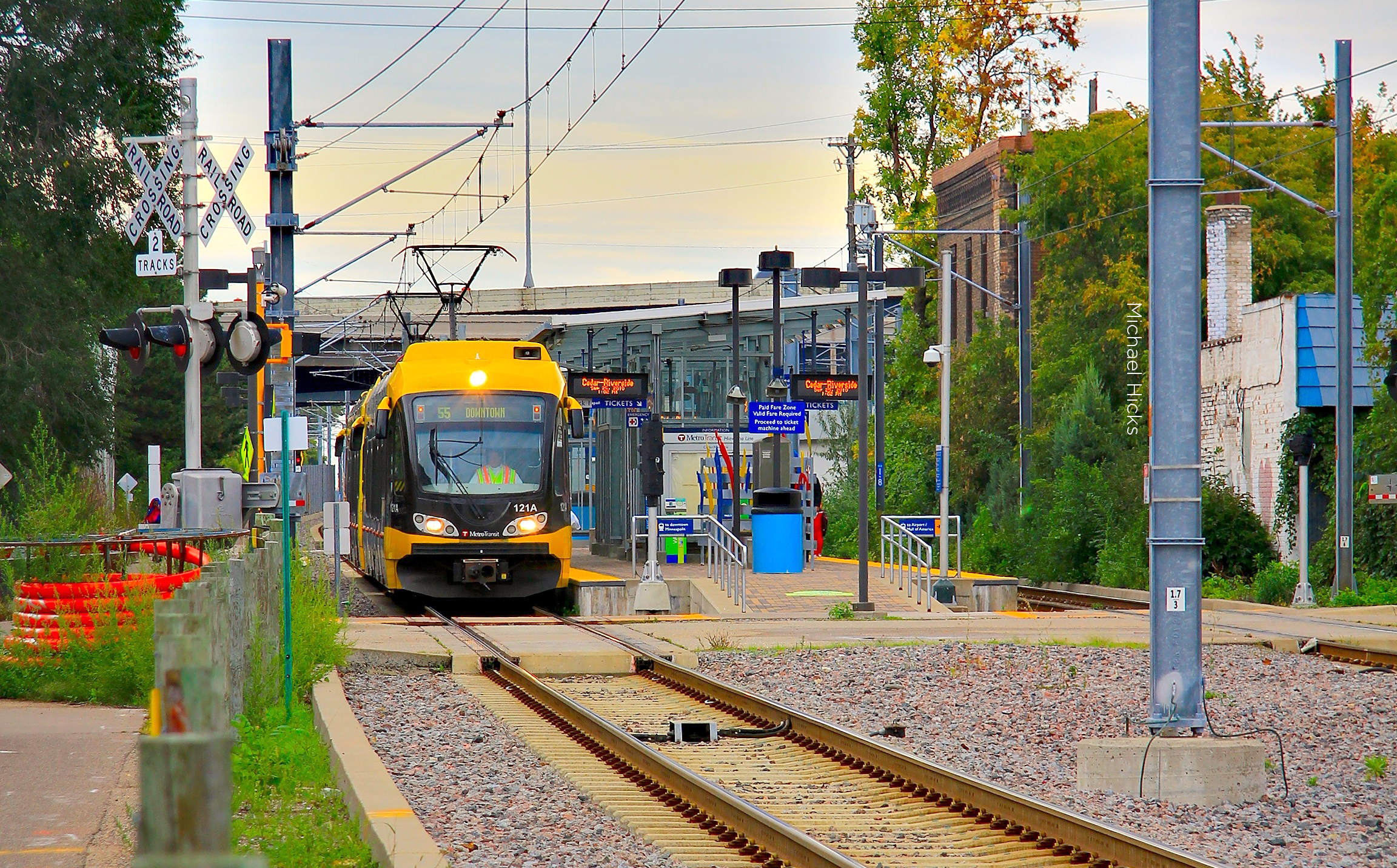 Metro Blue Line NHPA & NEPA Consultation and Survey