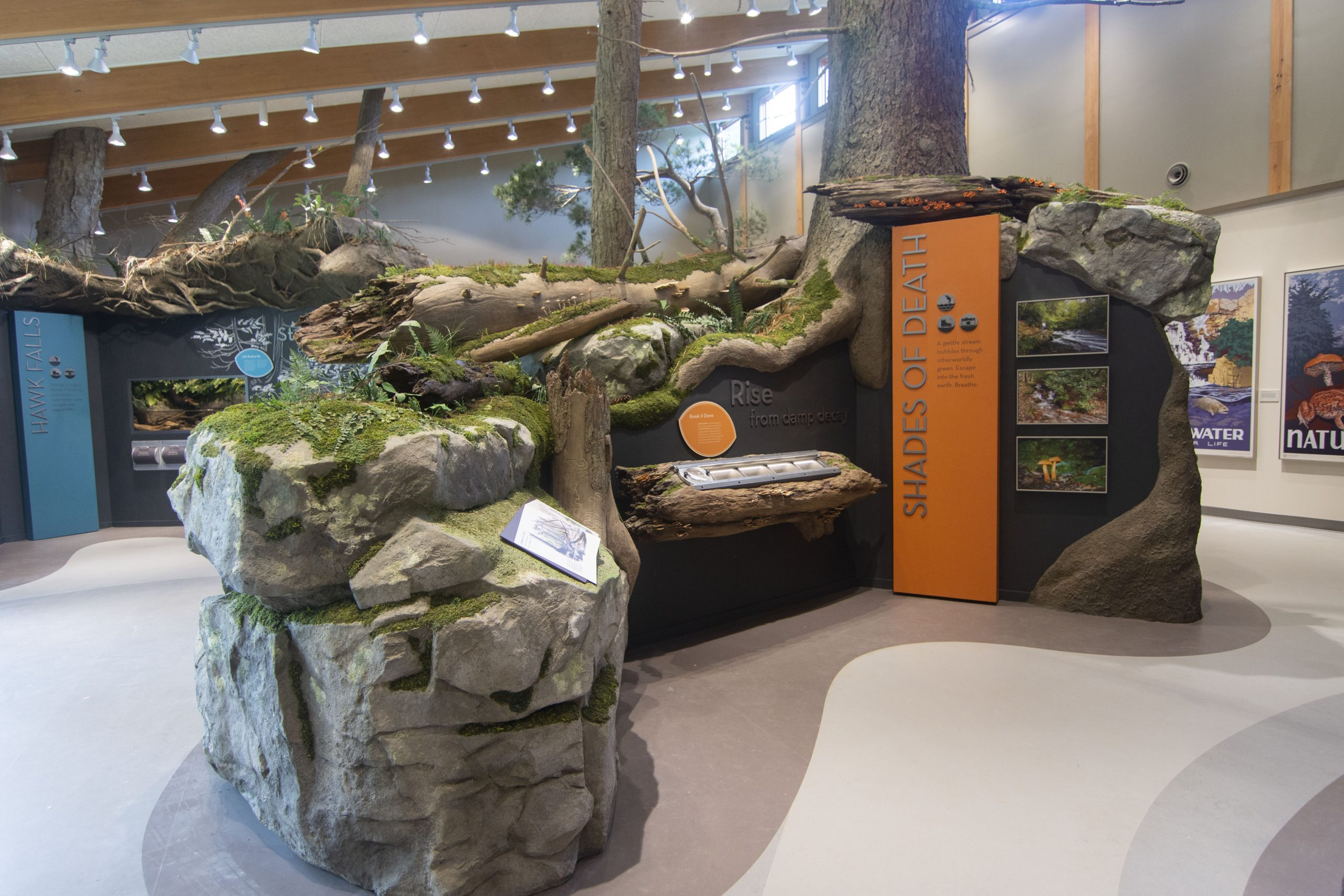 Hickory Run State Park Exhibit