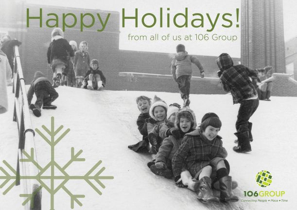 Happy Holidays From All Of Us At 106 Group!