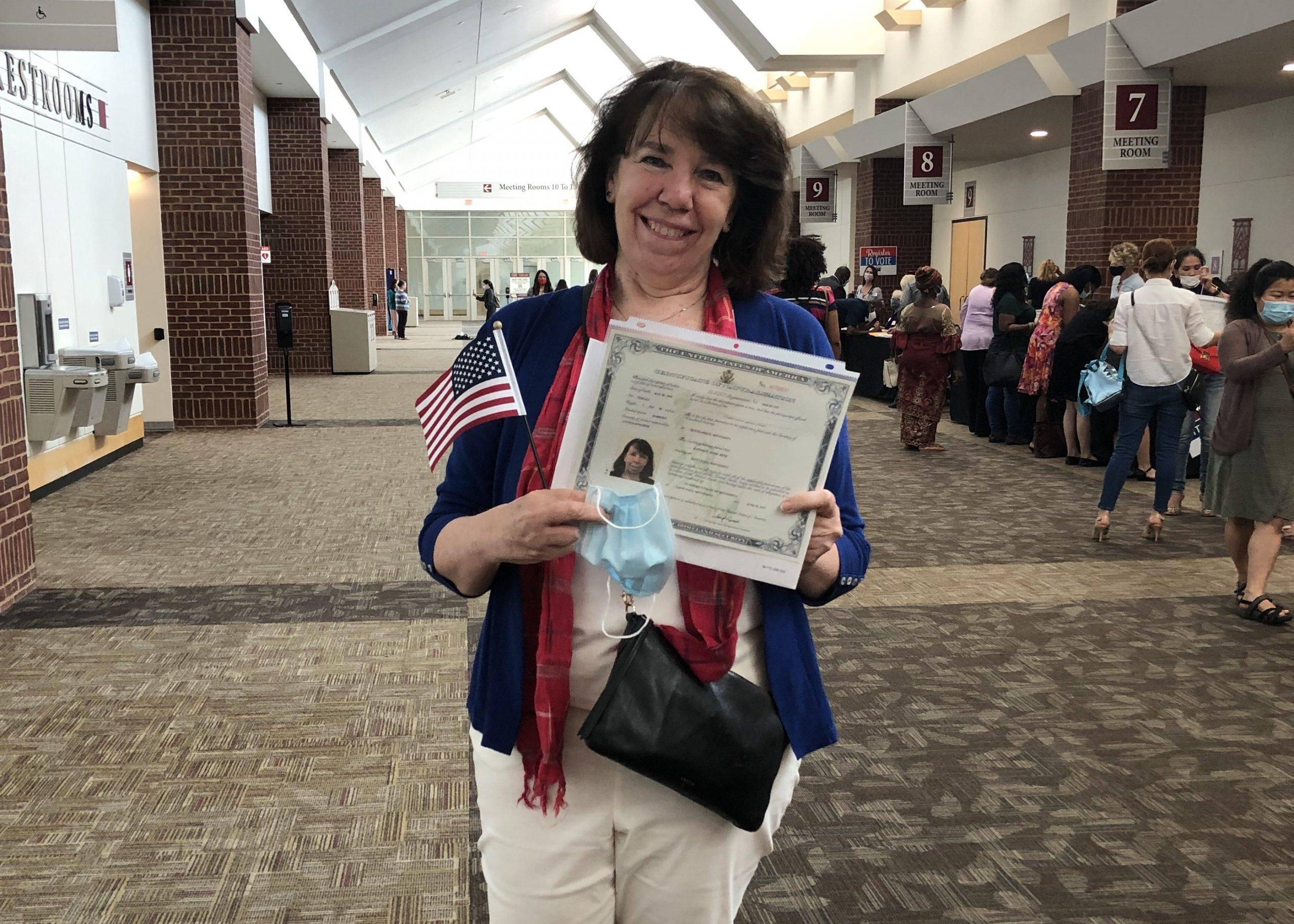Anne Ketz Becomes an American Citizen